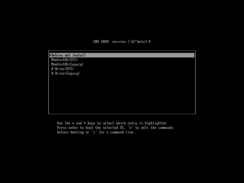 PXE multi-boot server using grub2 on Mikrotik RouterOS ( bios and